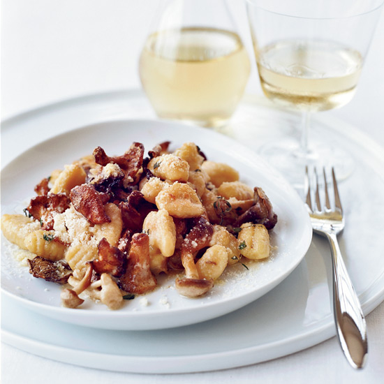 Andrew Carmellini's Gnocchi with Wild Mushrooms