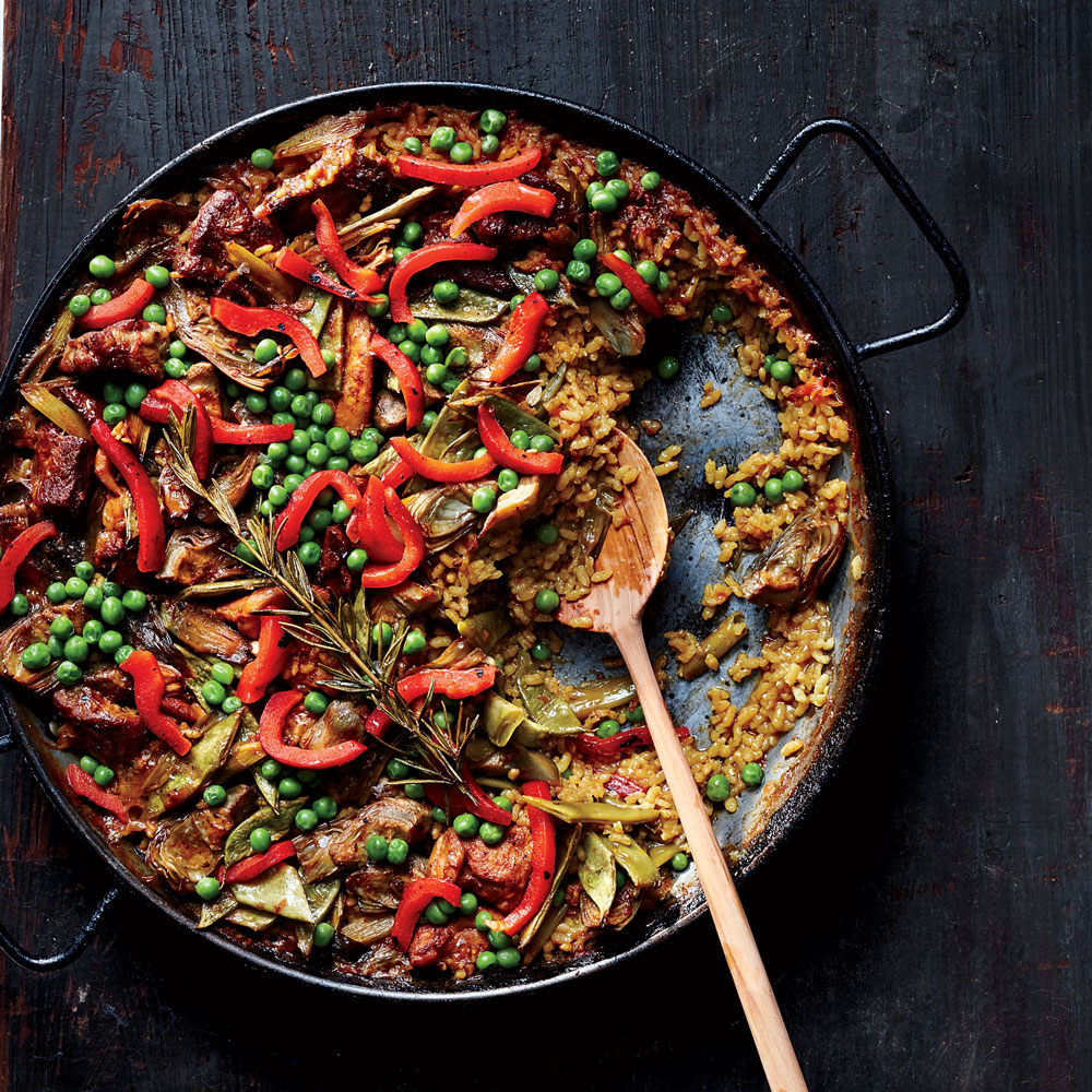 Chicken and Pork Paella