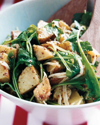 Warm Potato Salad with Arugula