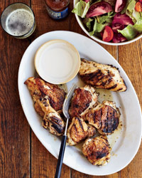 Big Bob Gibson's Chicken with White Barbecue Sauce