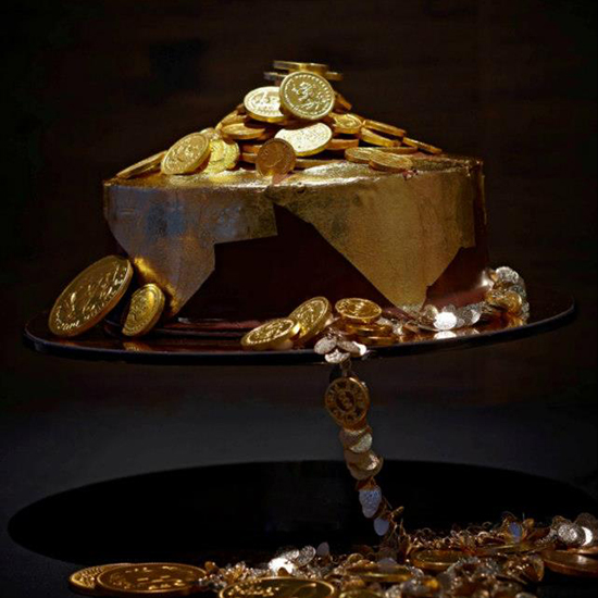 Million-Dollar Truffle Cake