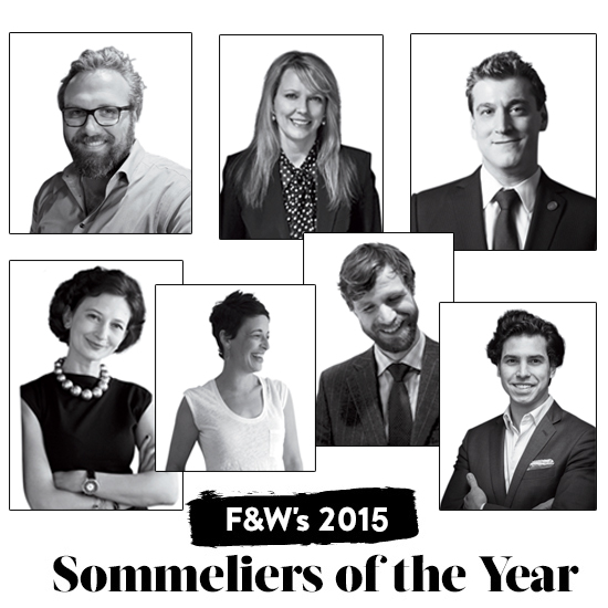 Announcing Food & Wine's 2015 Sommeliers of the Year