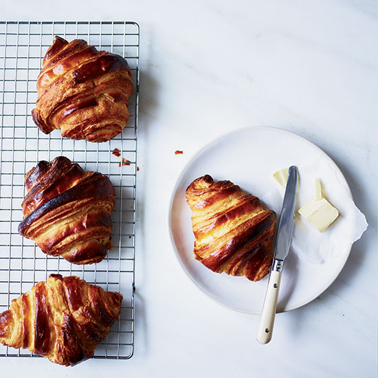 Serve the Croissants