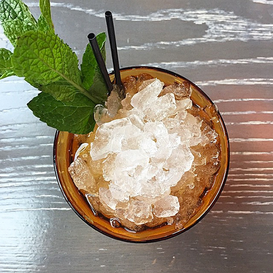 10 a.m. Champagne Tastings, Fresh-Pressed Juice and Grilled Apricot Juleps