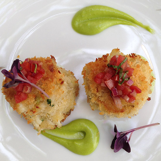 Harissa Crab Cakes Recipe