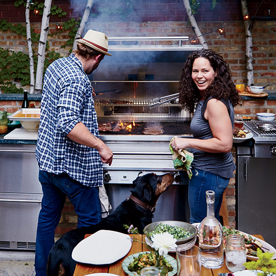The 4 Things Stephanie Izard Taught Her Husband About Grilling (And The 4 Things He Taught Her About Craft Beer)