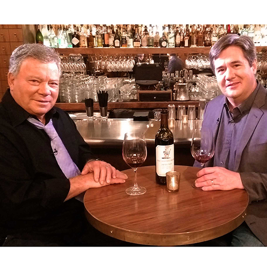 William Shatner Drinks with Matt Walsh, Marcellus Wiley and F&W's Ray Isle on the New Season of Brown Bag Wine Tasting