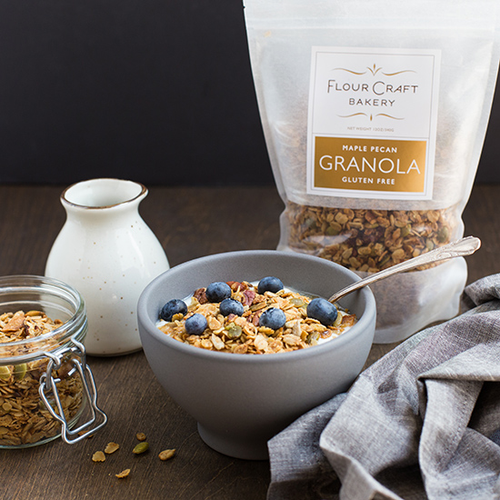 Flour Craft Bakery Maple Pecan Granola