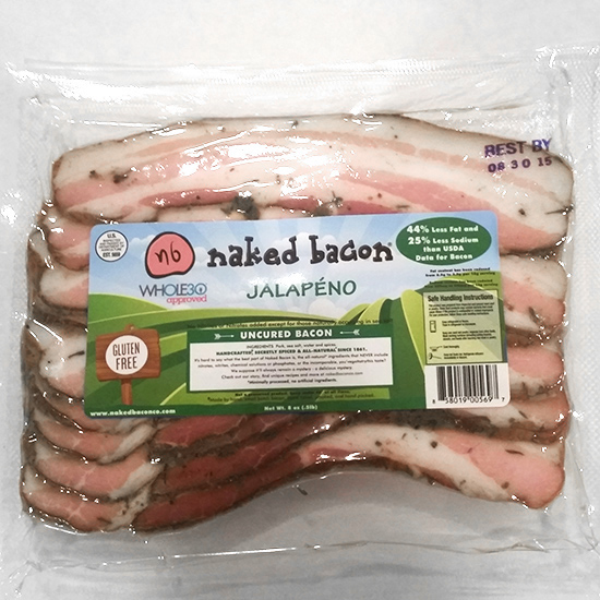 Naked Bacon Jalapeño