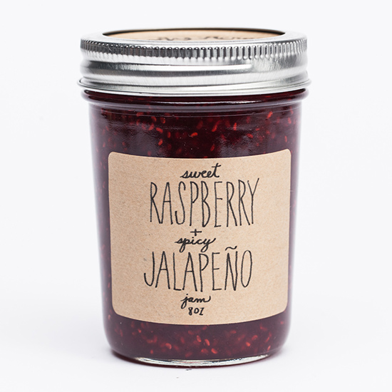 Shady Acres Raspberry and Spicy Jalapeño Jam