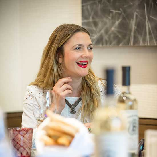 Drinking with Drew Barrymore, Part Two: On Wedding Gifts, Her New Pinot Noir, and the Best Wine for Game of Thrones' Khaleesi