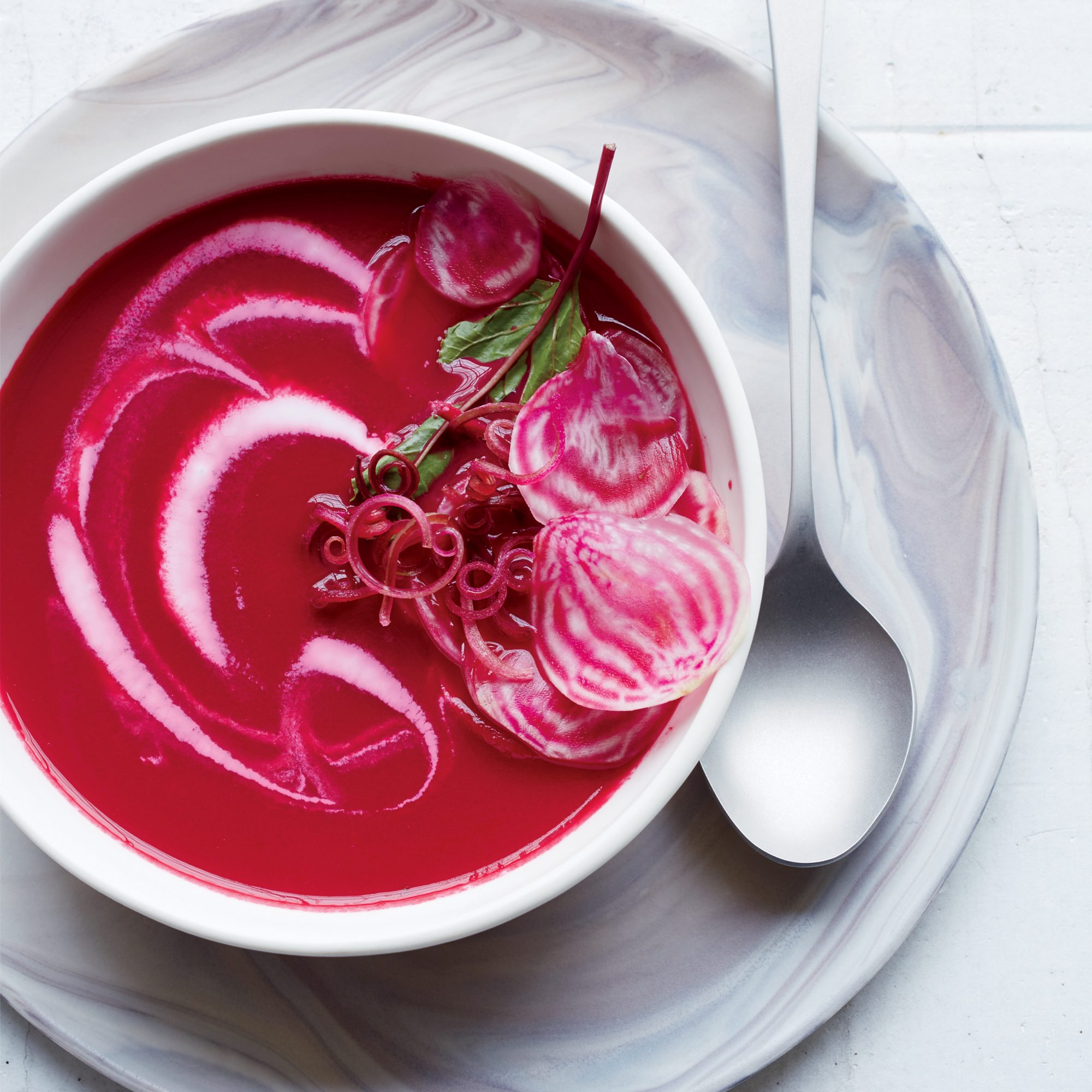 Chilled Beet and Green Apple Bisque