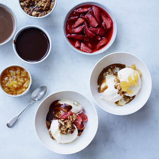 5 Elevated Ice Cream Sundae Toppings