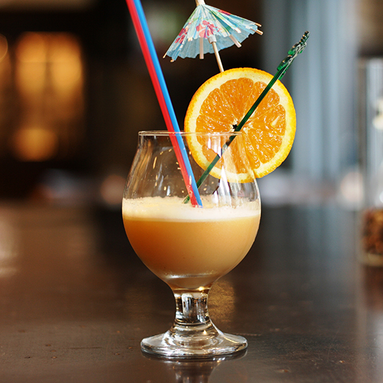 If Hot Buttered Rum and Tiki Drinks Had a Delicious, Boozy Baby