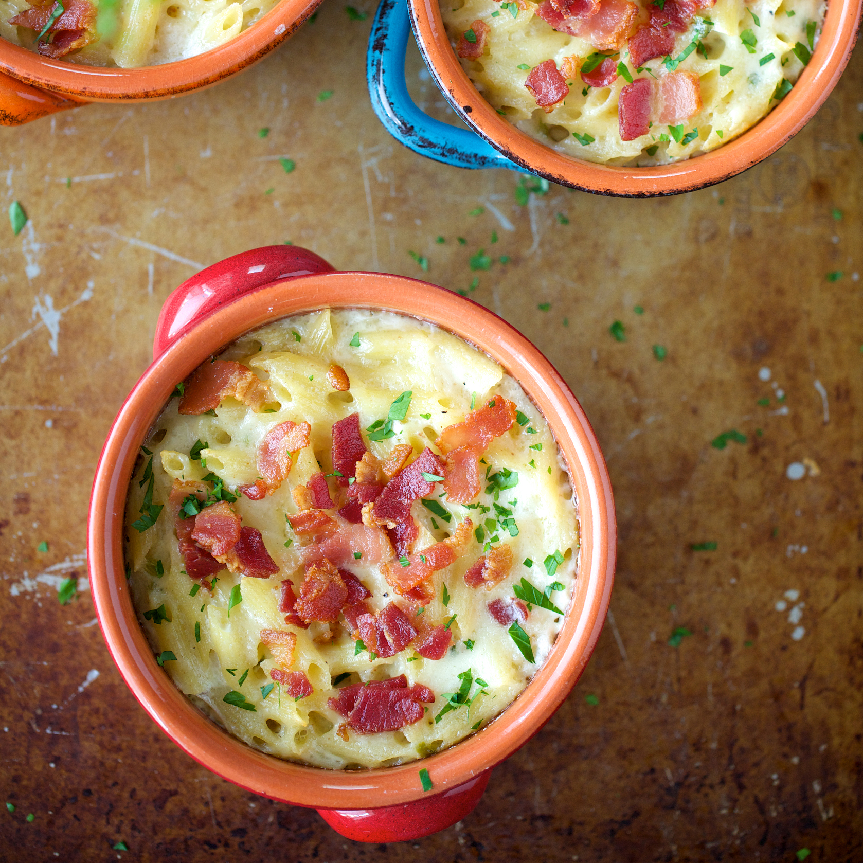 Macaroni and Cheese with Jalapeños and Bacon