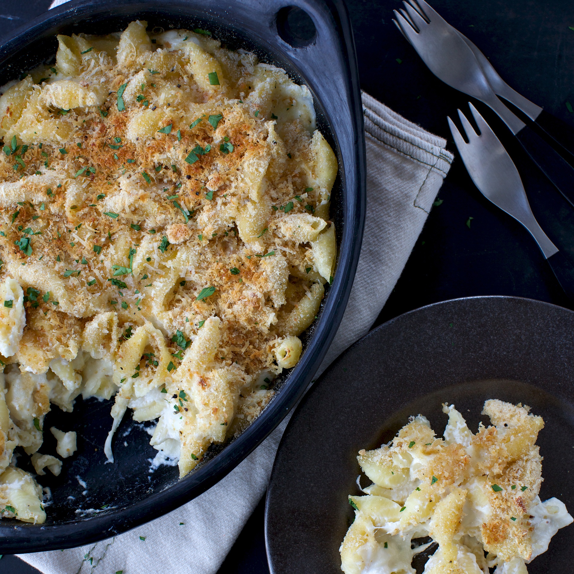 Macaroni With Ricotta Recipe — Dishmaps