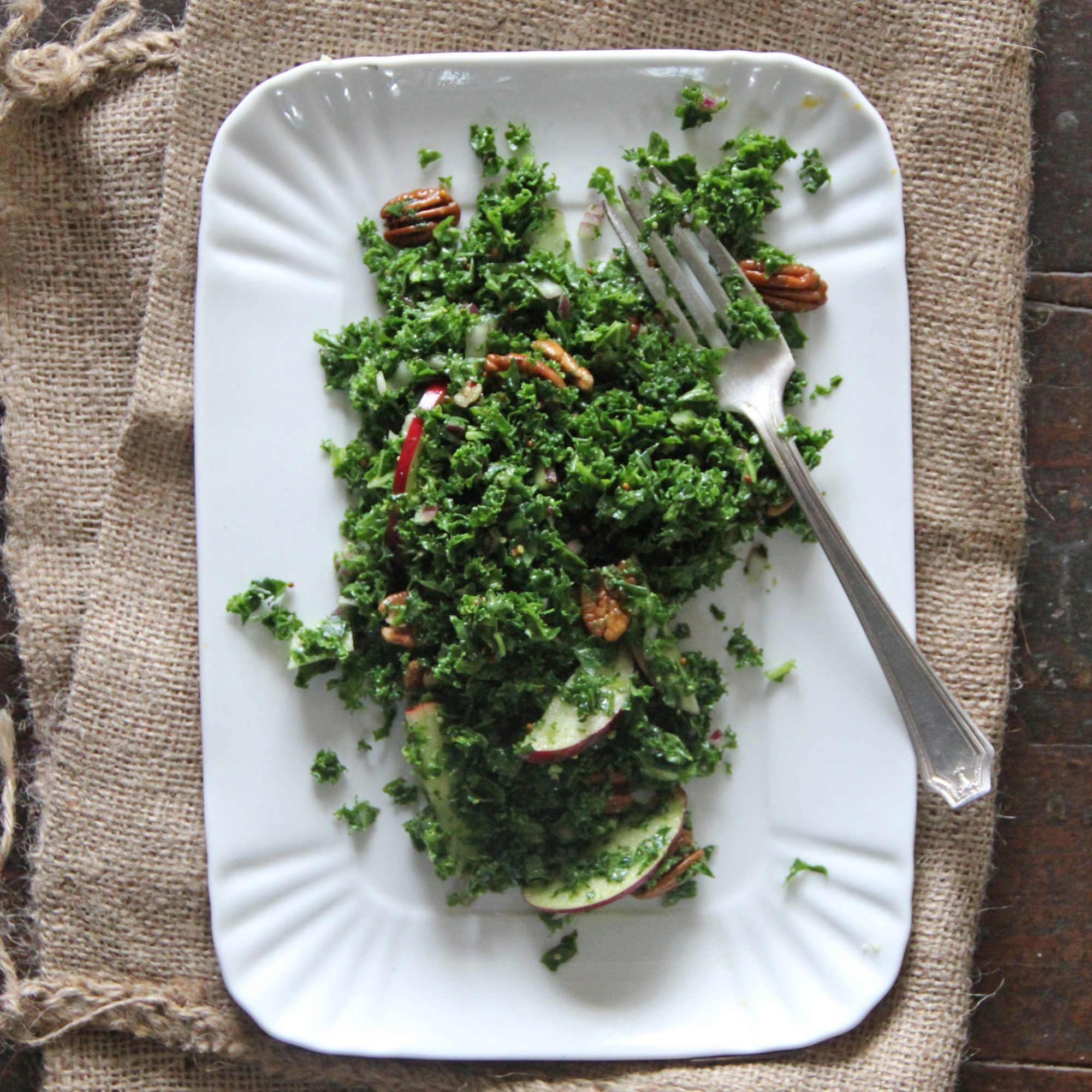 Winter Kale Salad