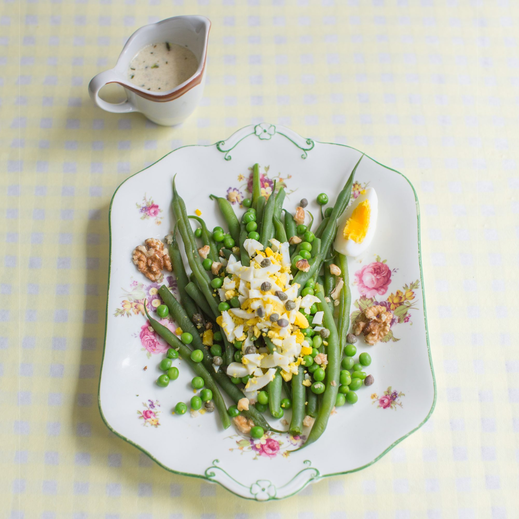 French Bean Mimosa Salad