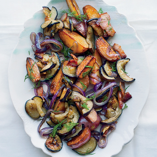 Eggplant Potato Salad