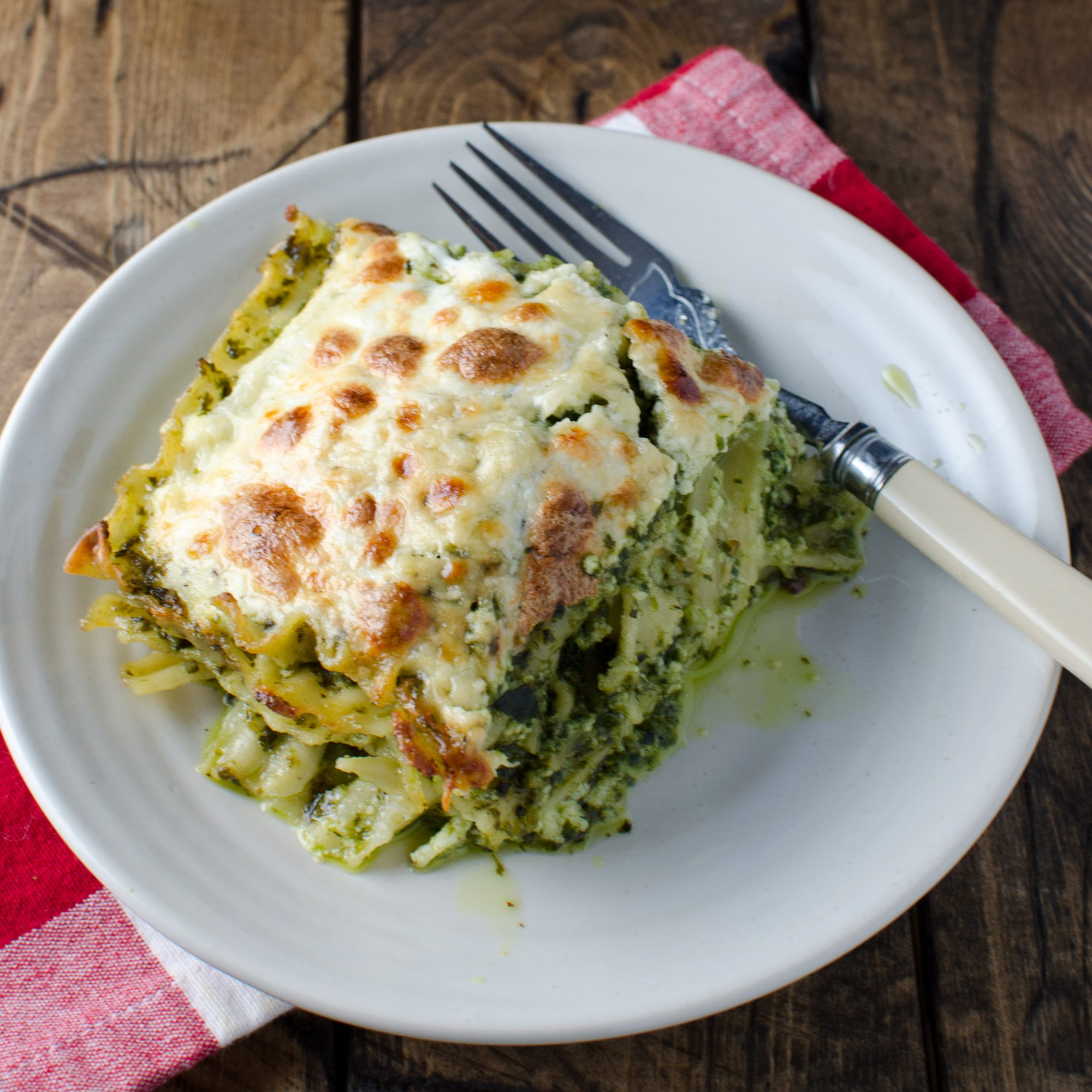 Fast-and-Easy Pesto Lasagna