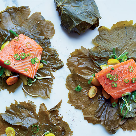 How to Cook with Grape Leaves