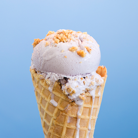 Blueberry Sour Cream - Mount Desert Island Ice Cream