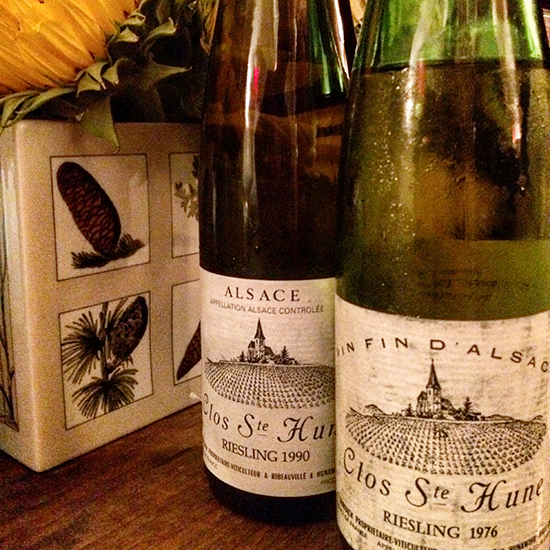 Trimbach's Clos Ste Hune Riesling
