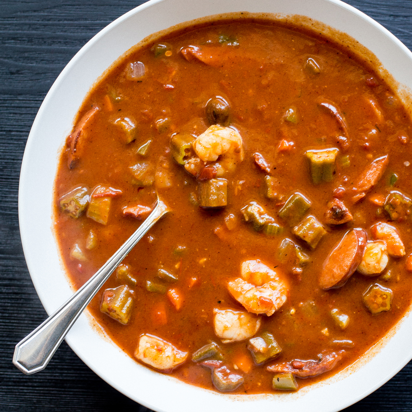 Day 8: Gluten-Free Shrimp and Sausage Gumbo