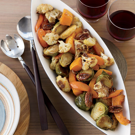 Caramelized Autumn Roasted Vegetables