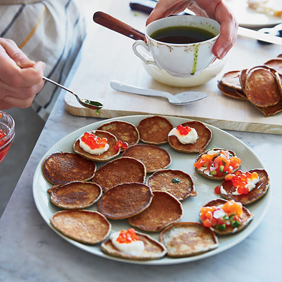 Quick Buckwheat Blini