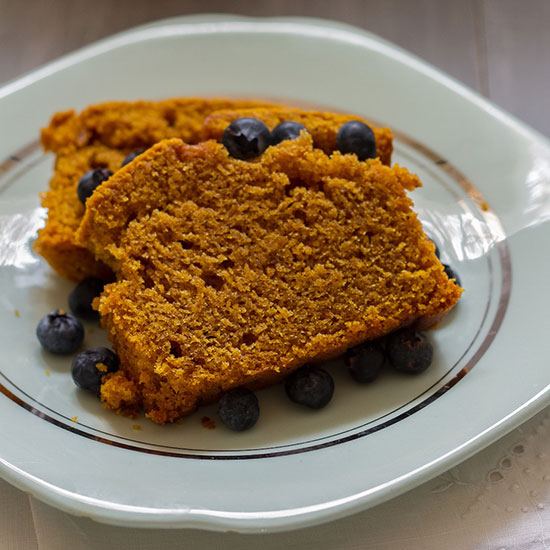 Pumpkin-Coconut Bread