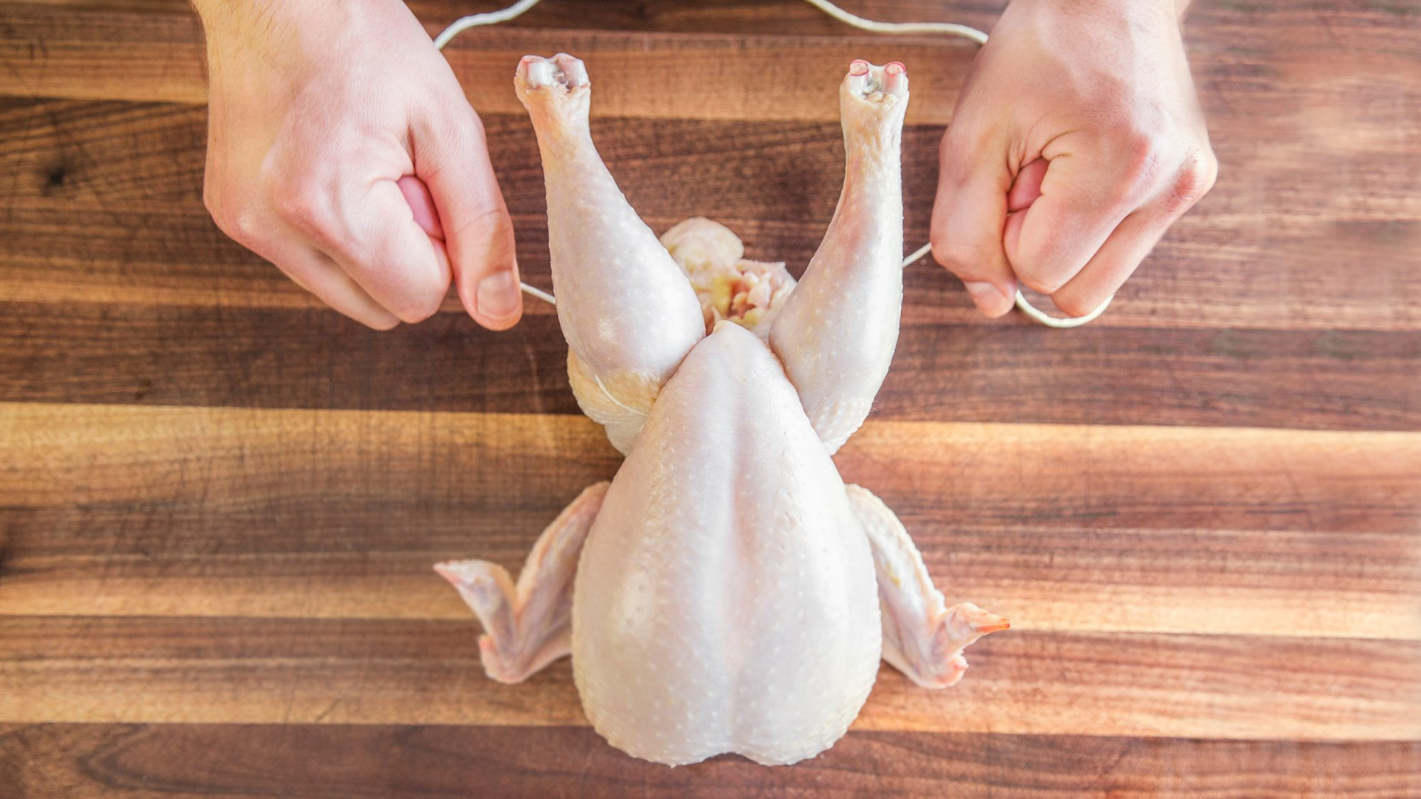 Video: How to Perfectly Truss a Chicken