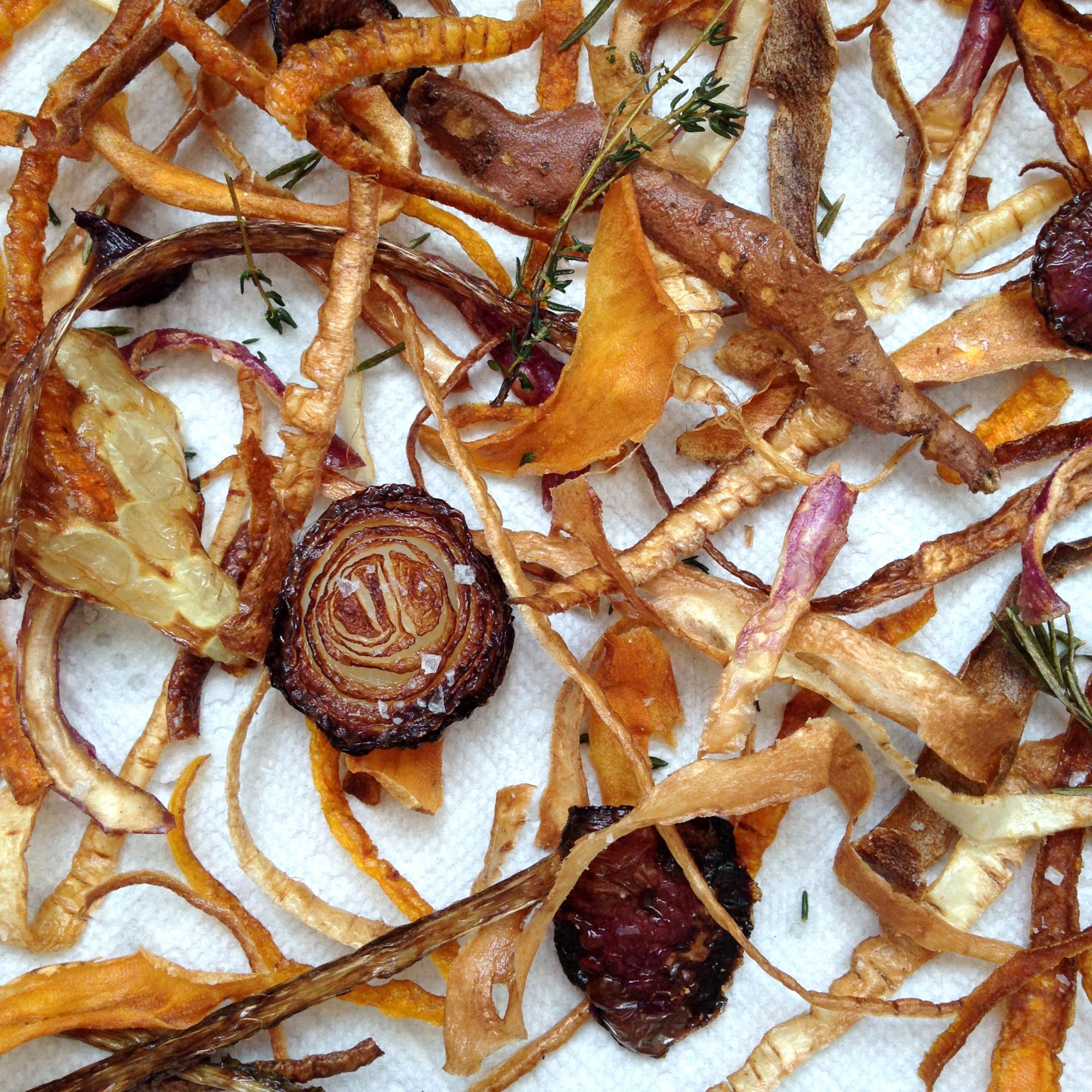 How to Make No-Waste Veggie Chips
