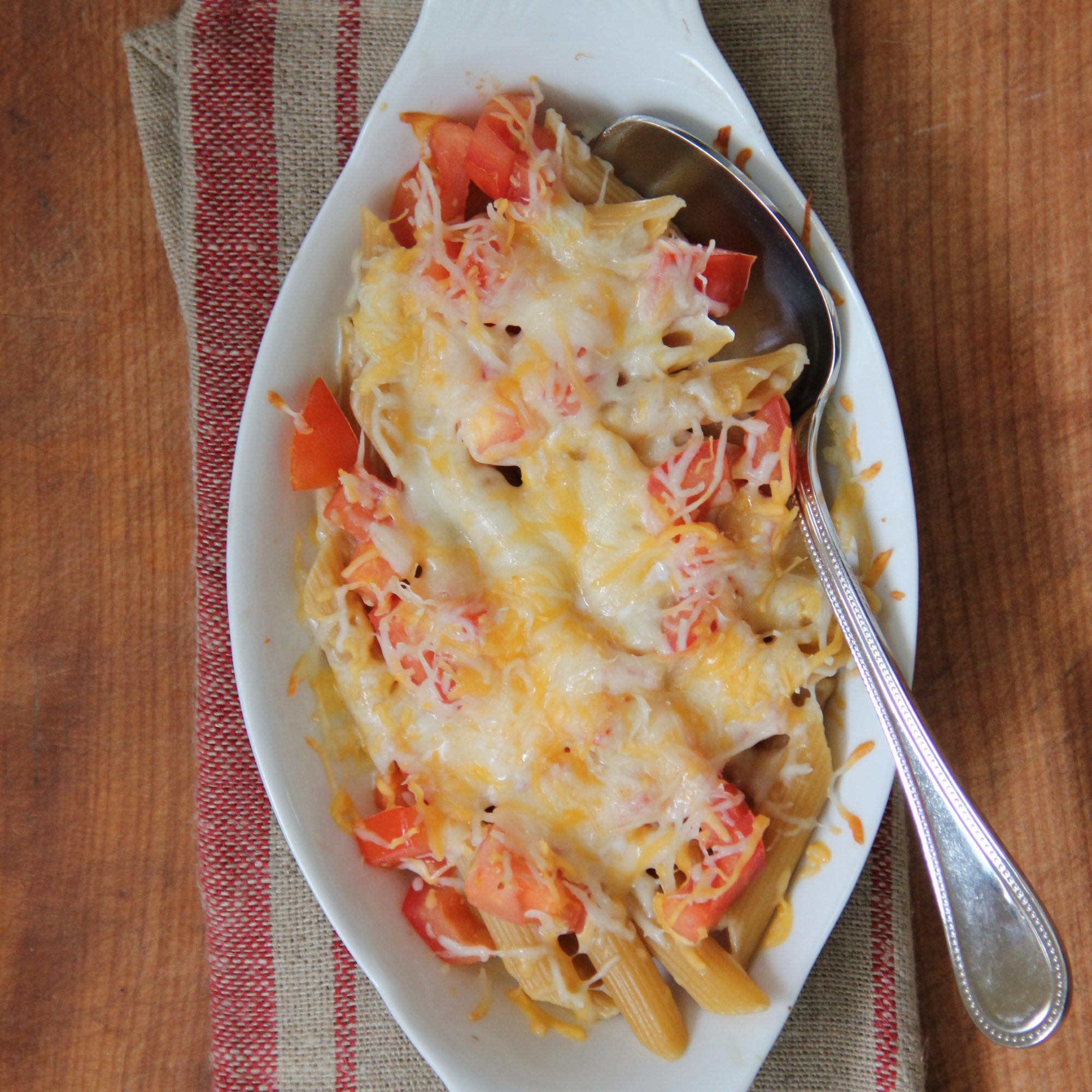 Fresh Tomato Mac and Cheese