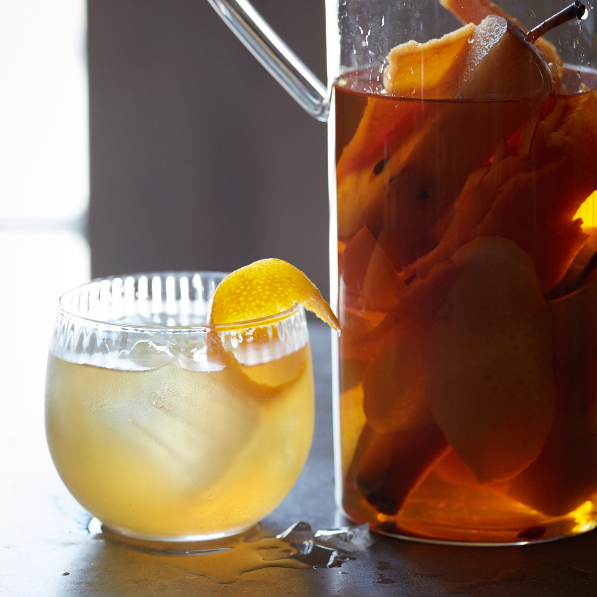 Autumn Fruit-Infused Bourbon