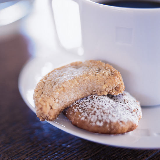 Almond Grappa Cookies