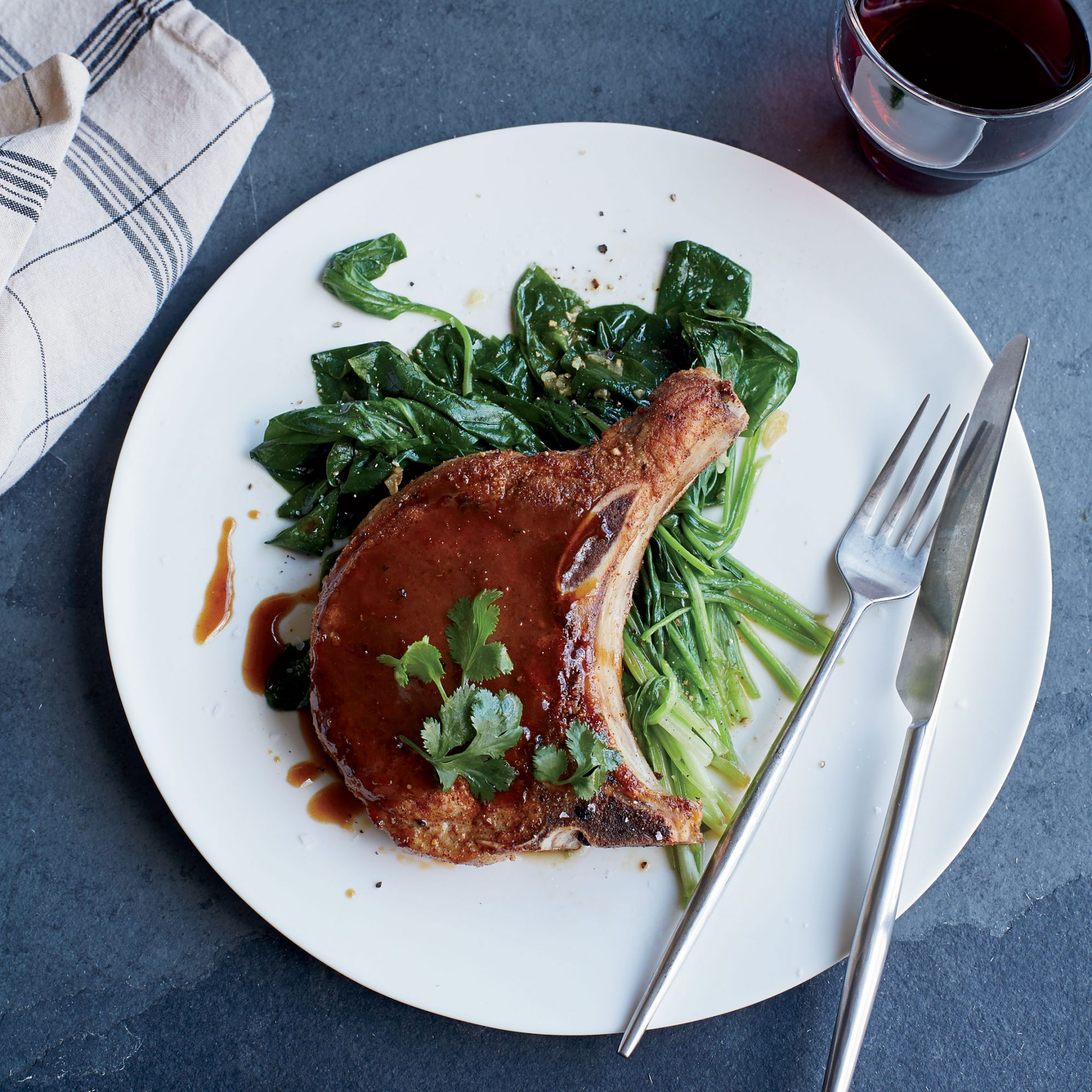 Soy and Ginger Pork Chops