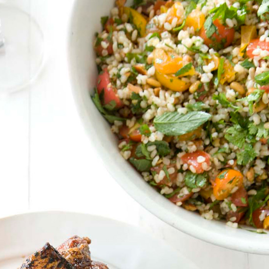 Nutty Brown-Rice Tabbouleh