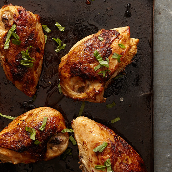 Miso-Stuffed Chicken