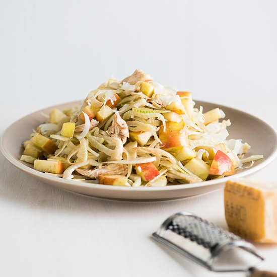 Healthy Chicken, Fennel and Apple Salad