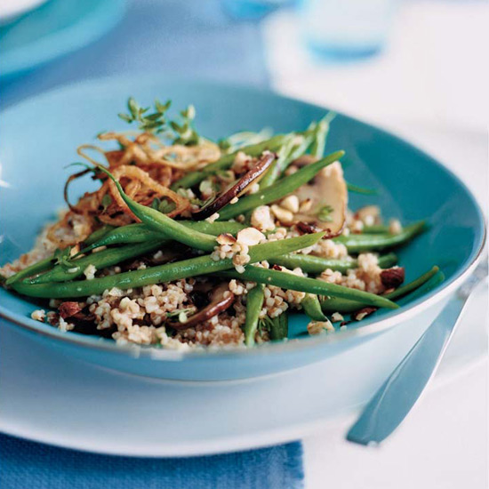 Farro and Green Bean Salad
