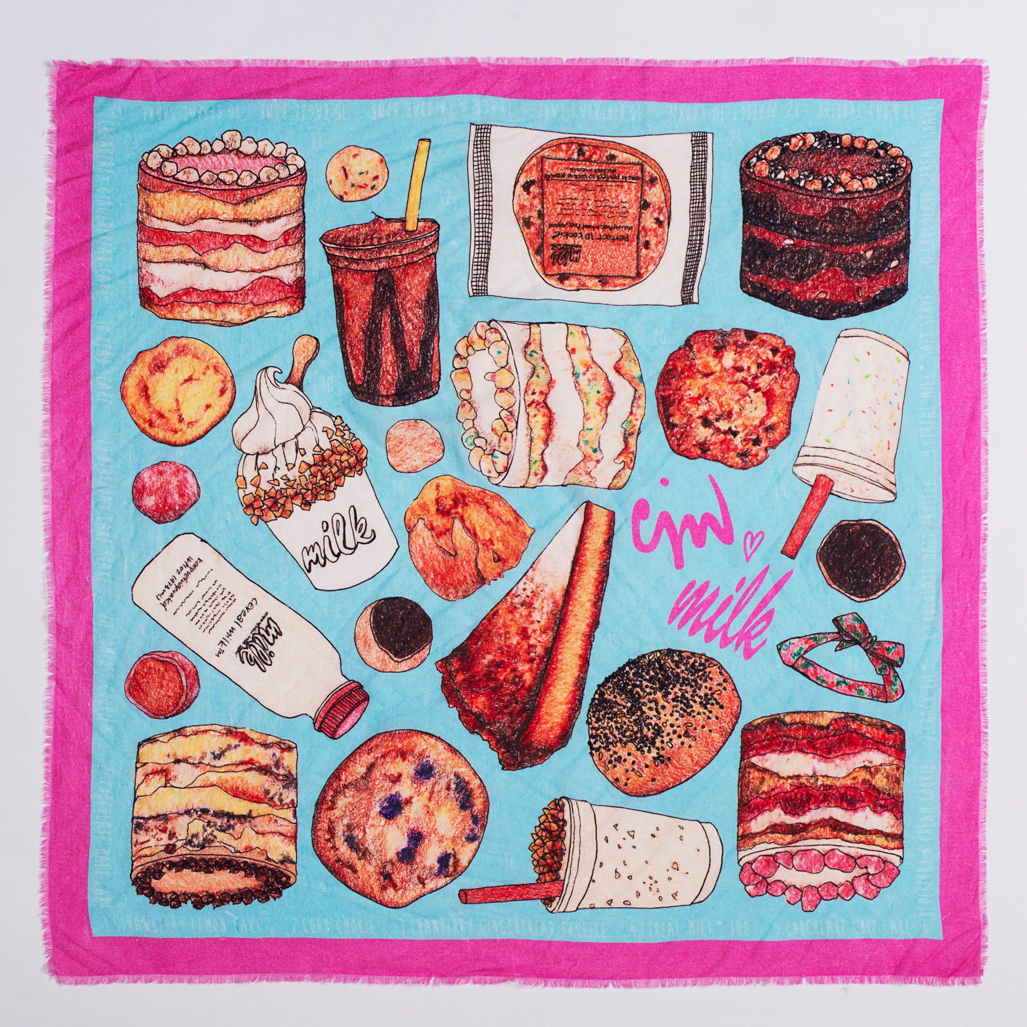 Have Your Cake and Wear it Too with Christina Tosi's New Scarf