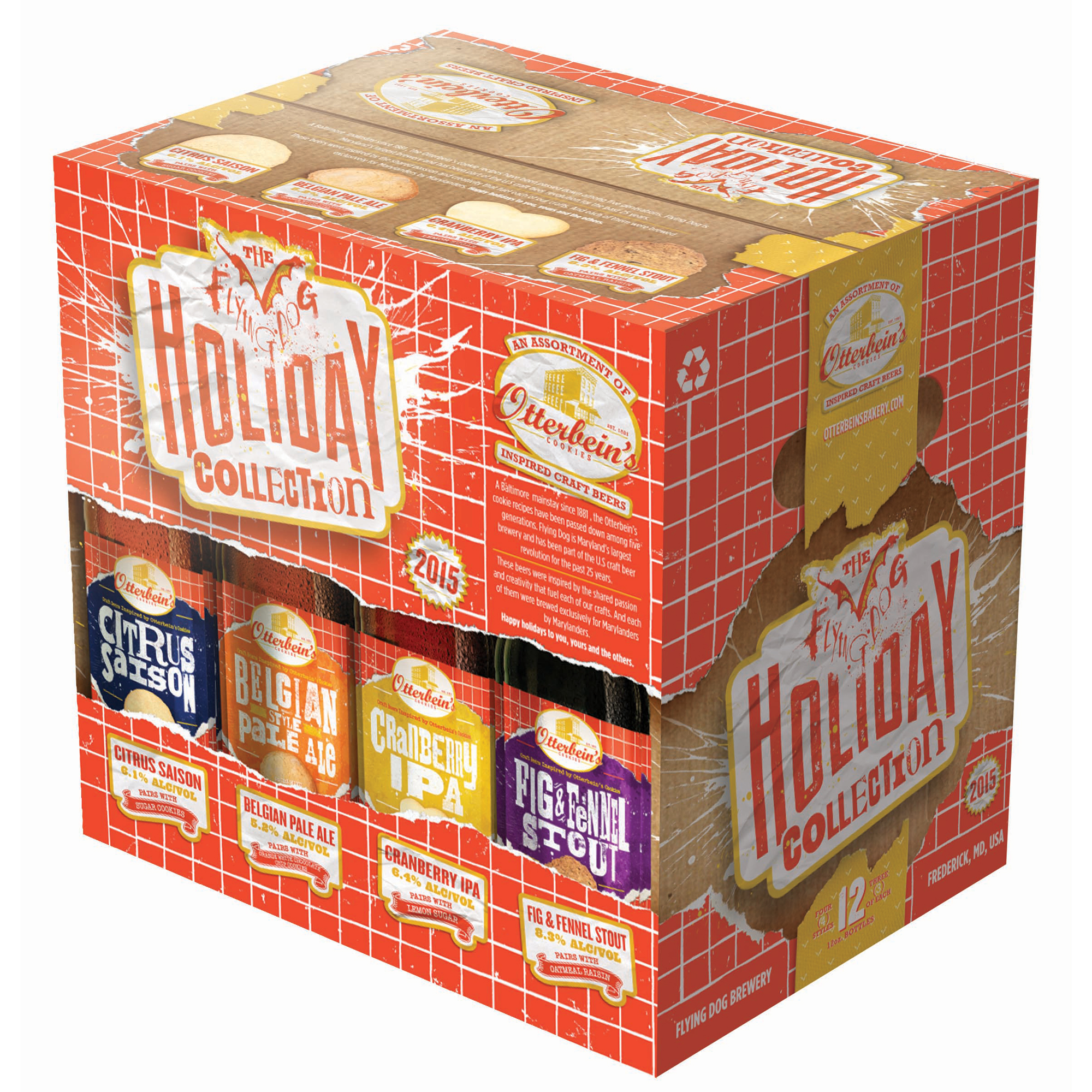Flying Dog Holiday Beer Collection
