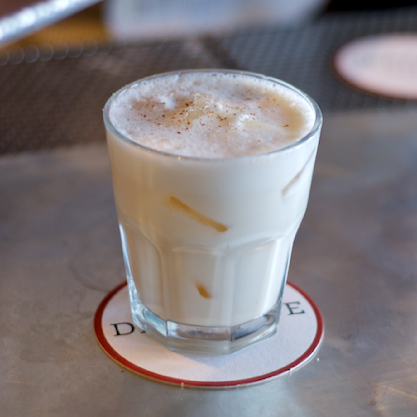 Fort Defiance's Bourbon Milk Punch