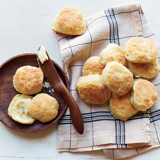 Skillet Buttermilk Biscuits
