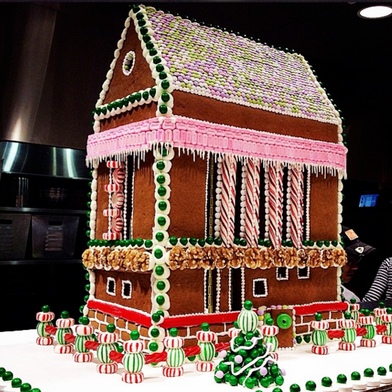 rose bakery gingerbread house