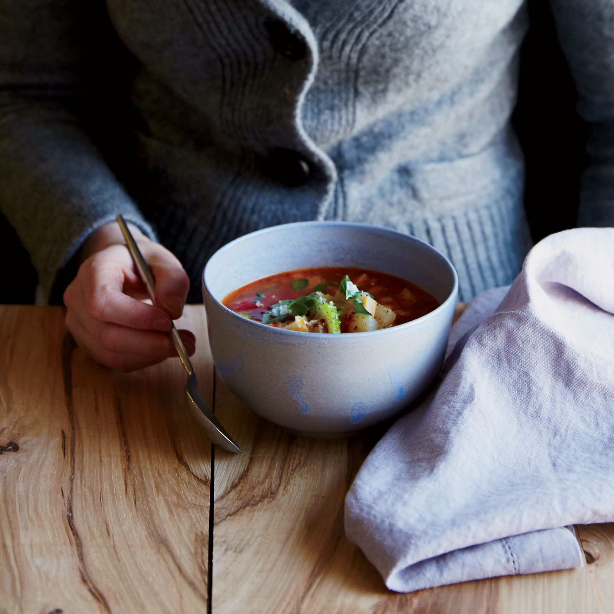 Winter Vegetable Minestrone