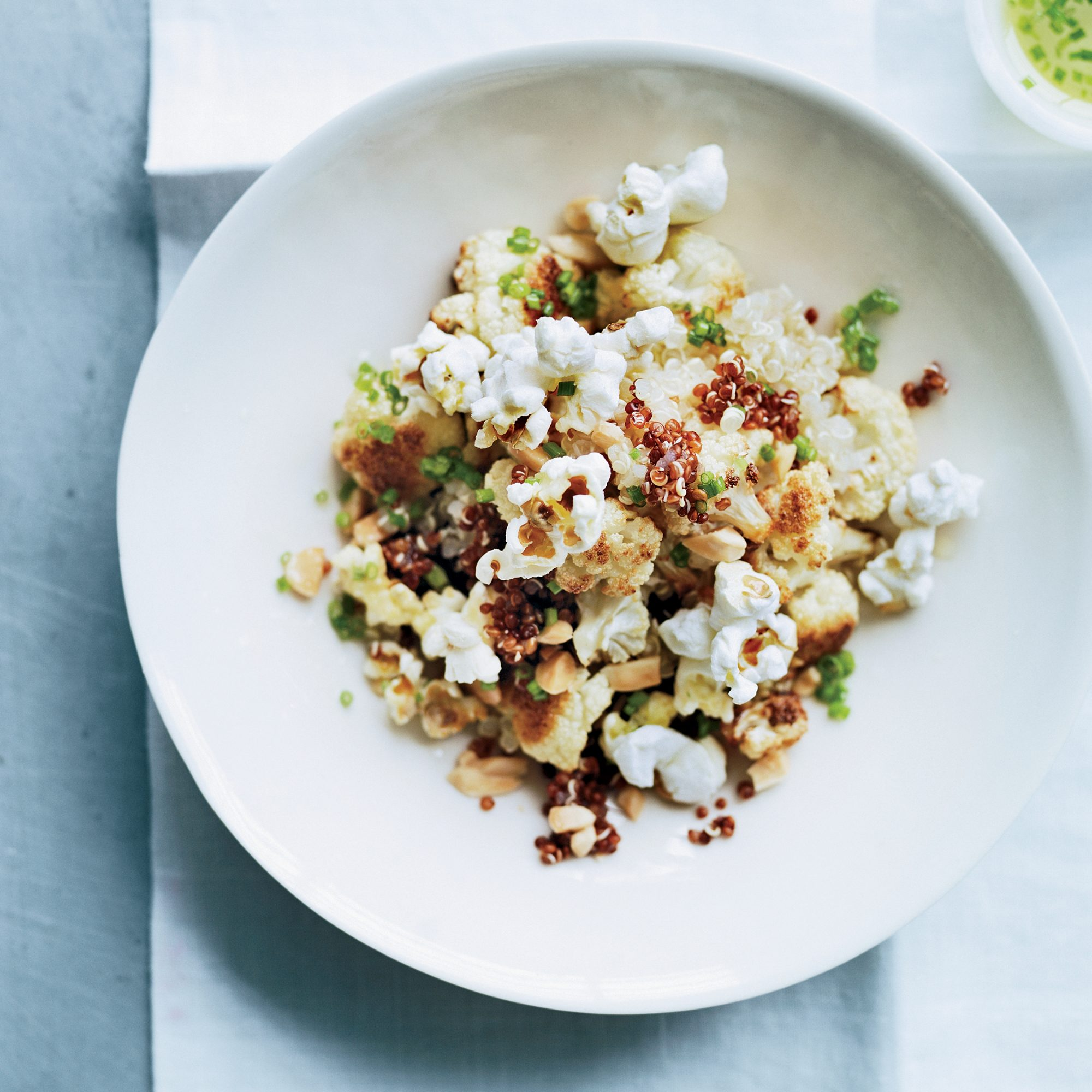 Quinoa & Cauliflower Salad with Popped Sorghum