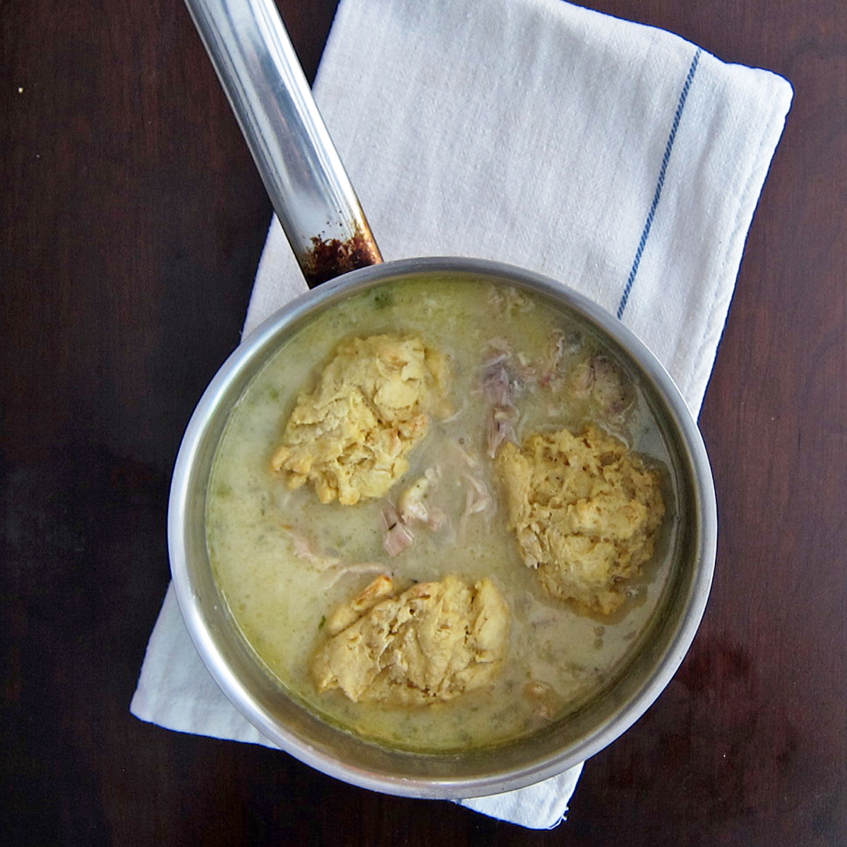 Coconut Chicken with Dumplings
