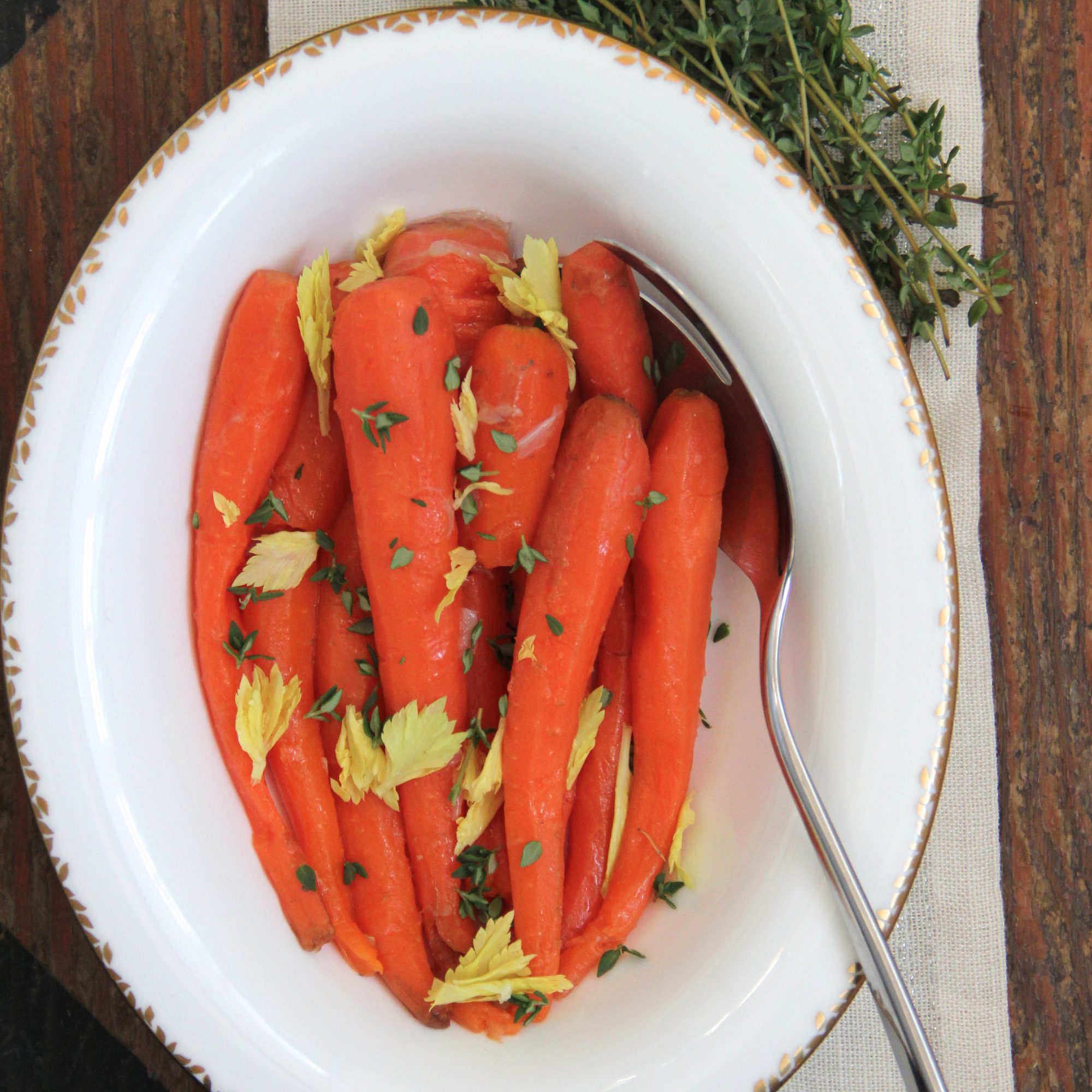 Irish Buttered Carrots